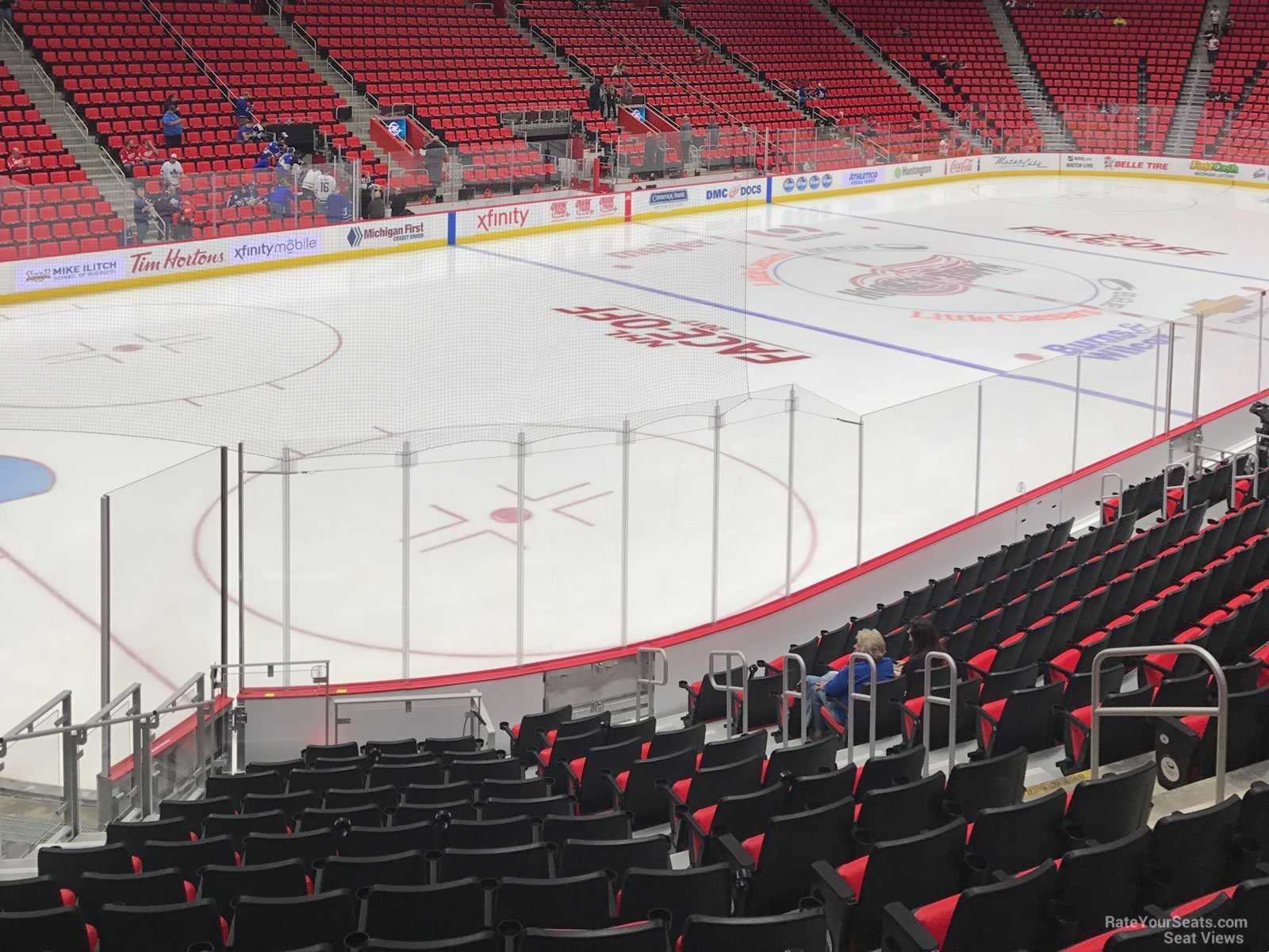 Little Caesars Arena Section 114 - Detroit Red Wings - RateYourSeats.com