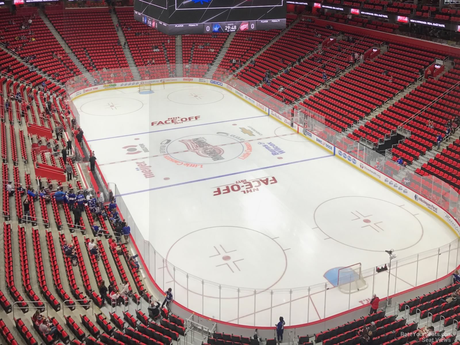 Little Caesars Arena Section 221 - Detroit Red Wings - RateYourSeats.com