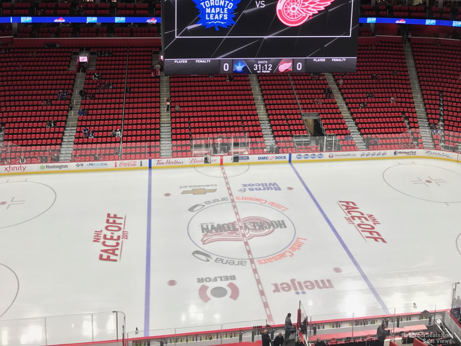 Little Caesars Arena Section 227 - Detroit Red Wings - RateYourSeats.com