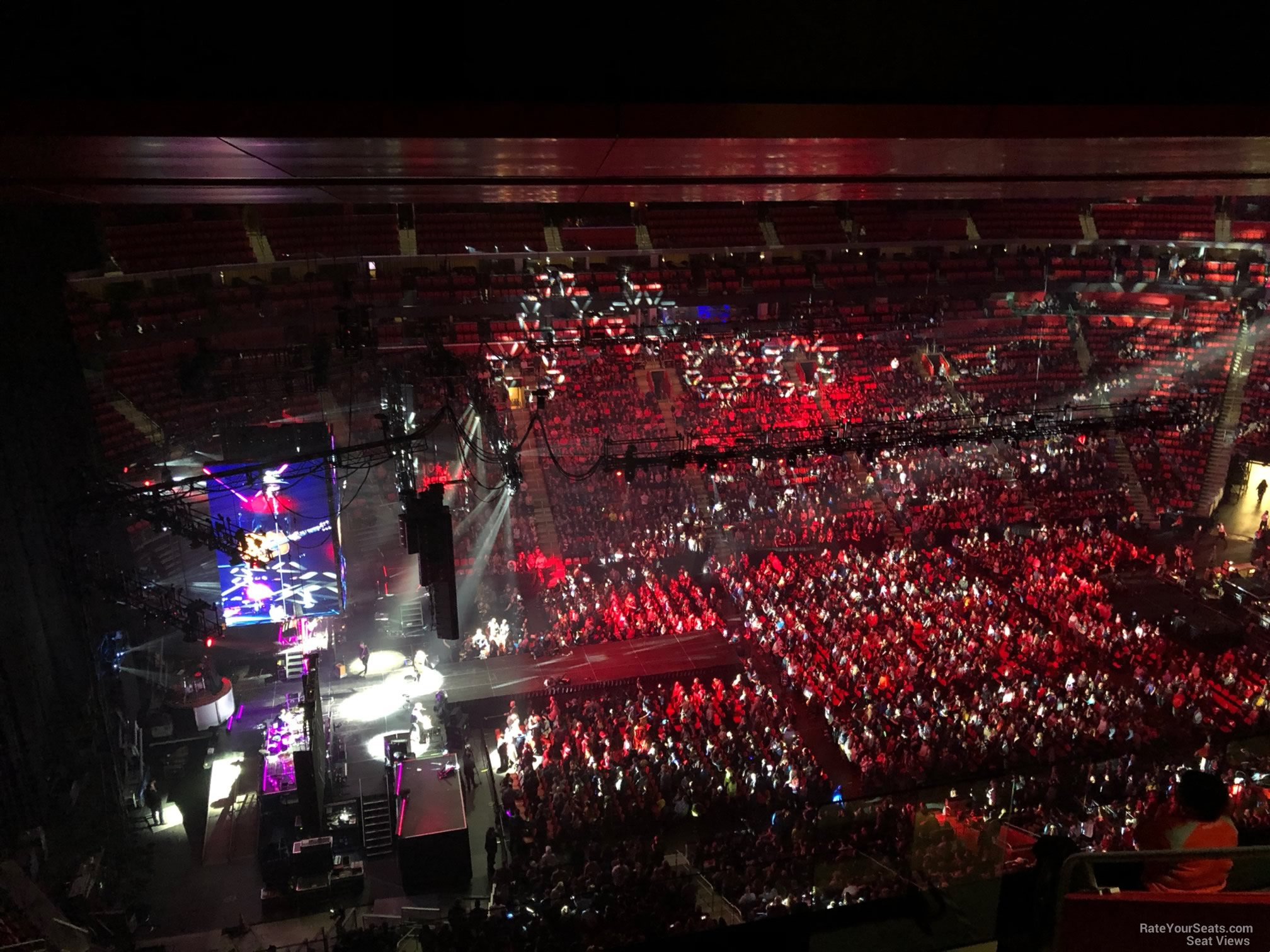 Little Caesars Arena Section 229 Concert Seating