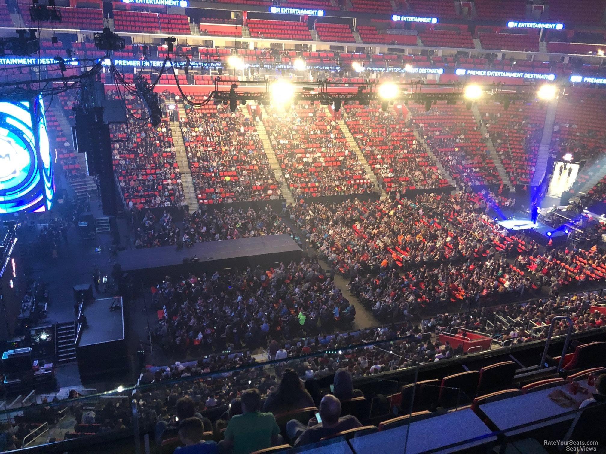 Mezzanine 31 seat view