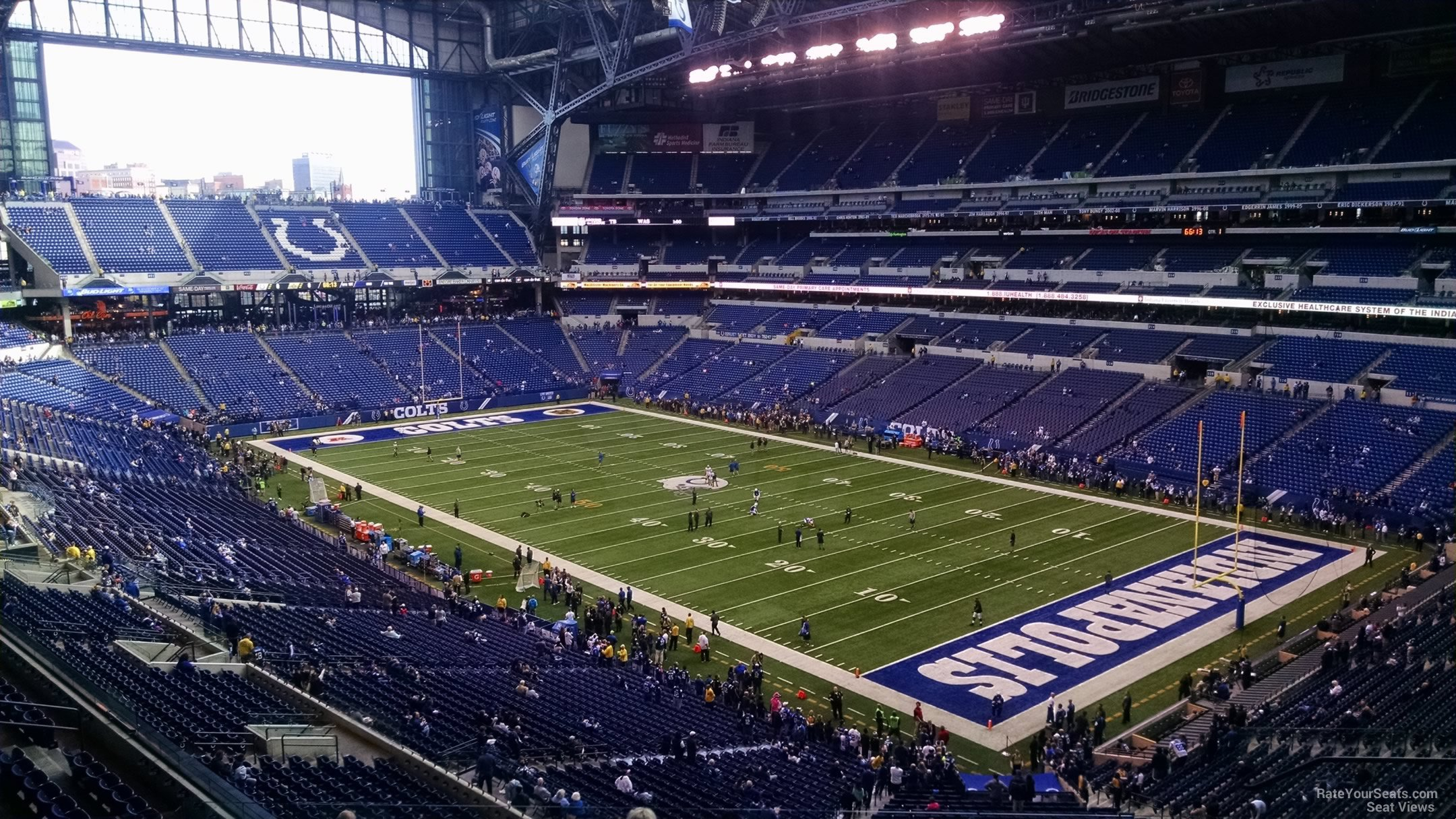 Lucas Oil Stadium Section 433 Indianapolis Colts