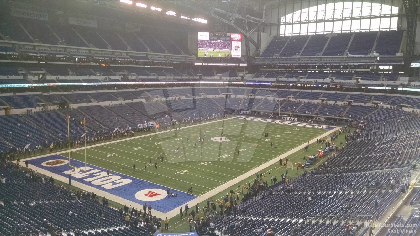 Lucas Oil Stadium Seating Chart Rows Big Ten Football