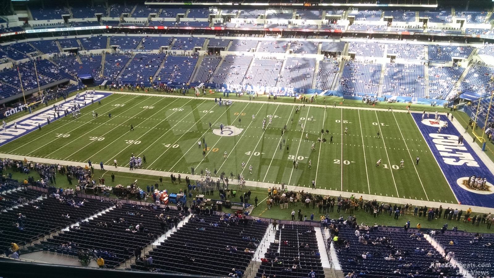 Indianapolis Colts Seat View for Lucas Oil Stadium Section 511, Row 5