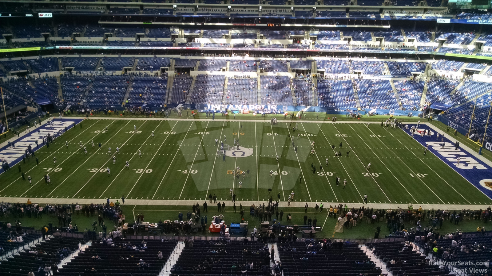 Indianapolis Colts Seat View for Lucas Oil Stadium Section 513, Row 2