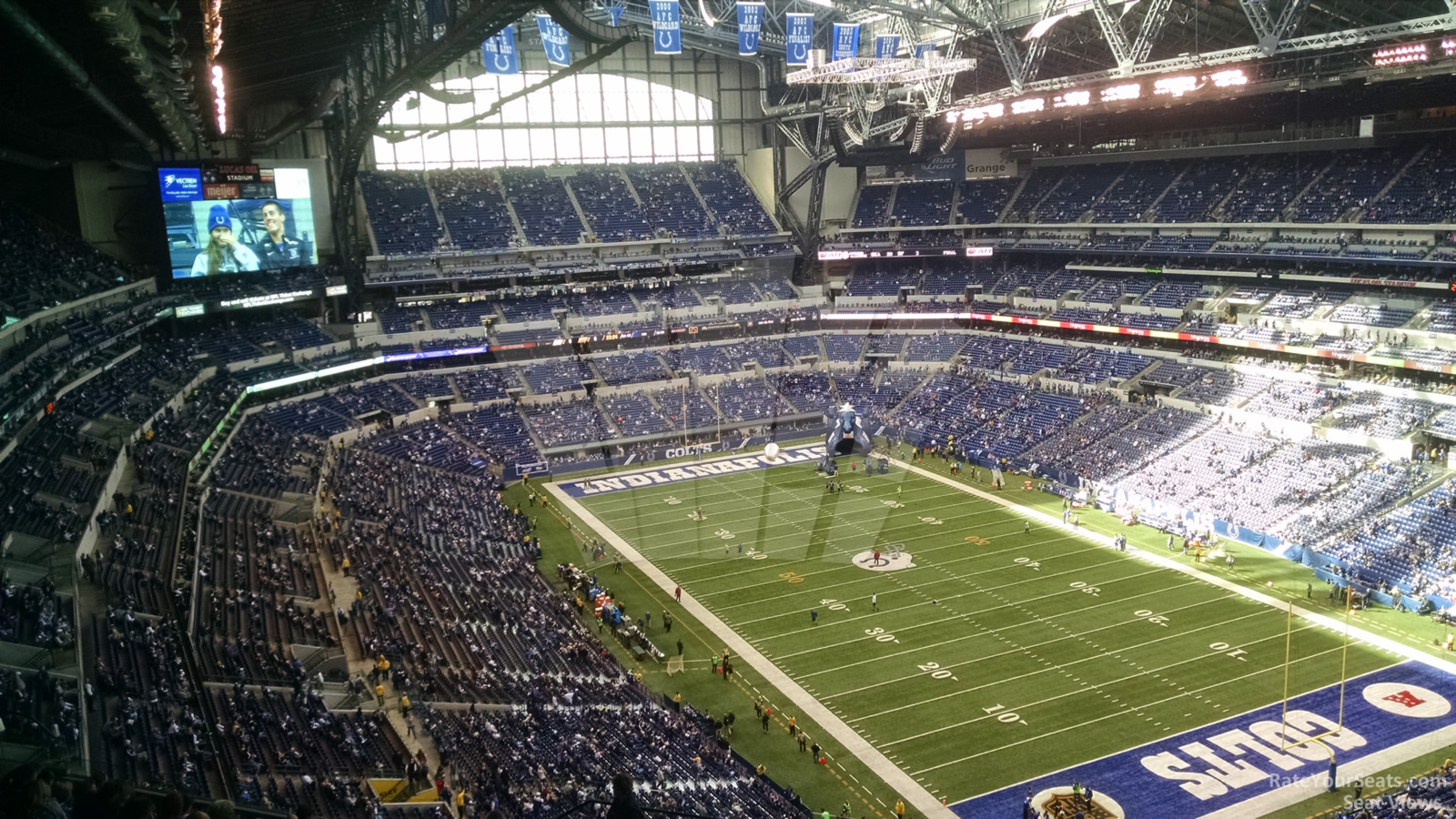 Lucas oil stadium section 604 indianapolis colts for Terrace end zone lucas oil stadium