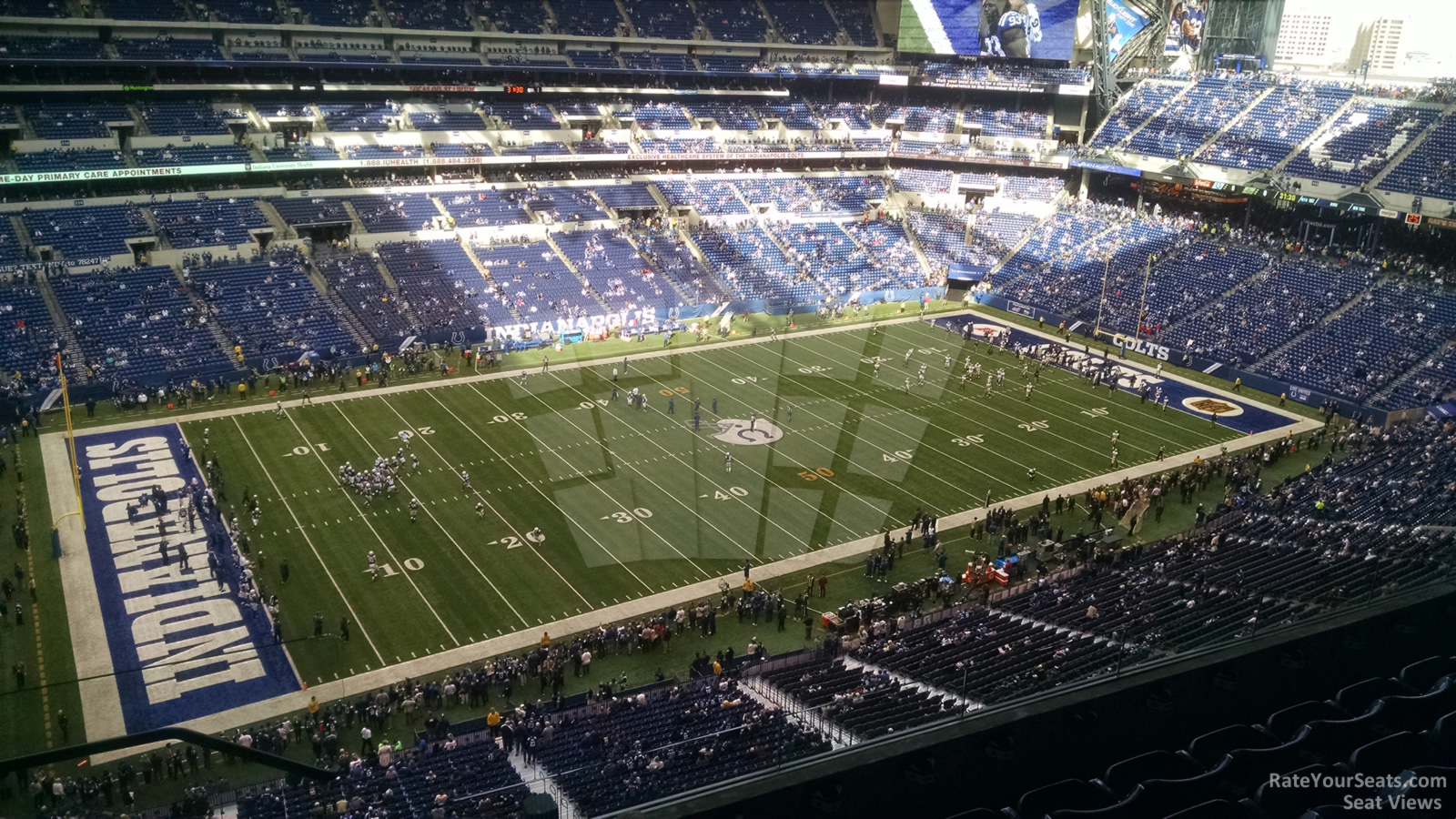 Section 617 seat view