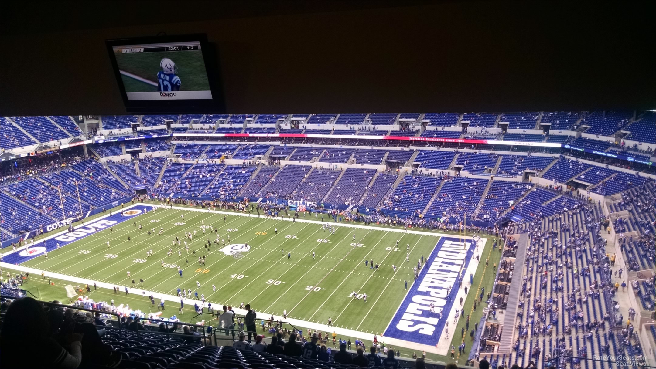 Lucas Oil Stadium Section 635 Indianapolis Colts