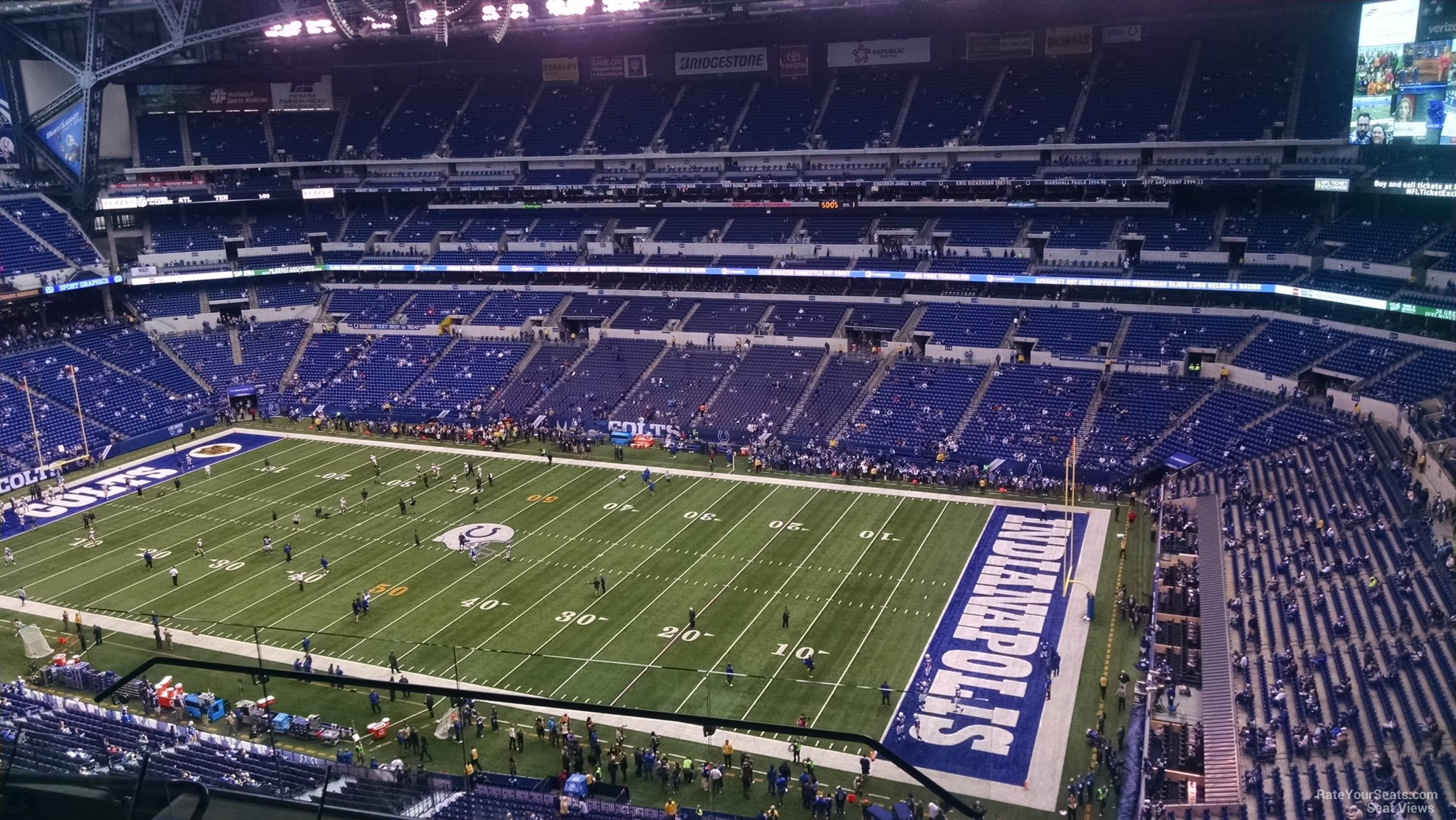 Lucas oil stadium section 635 indianapolis colts for Terrace end zone lucas oil stadium
