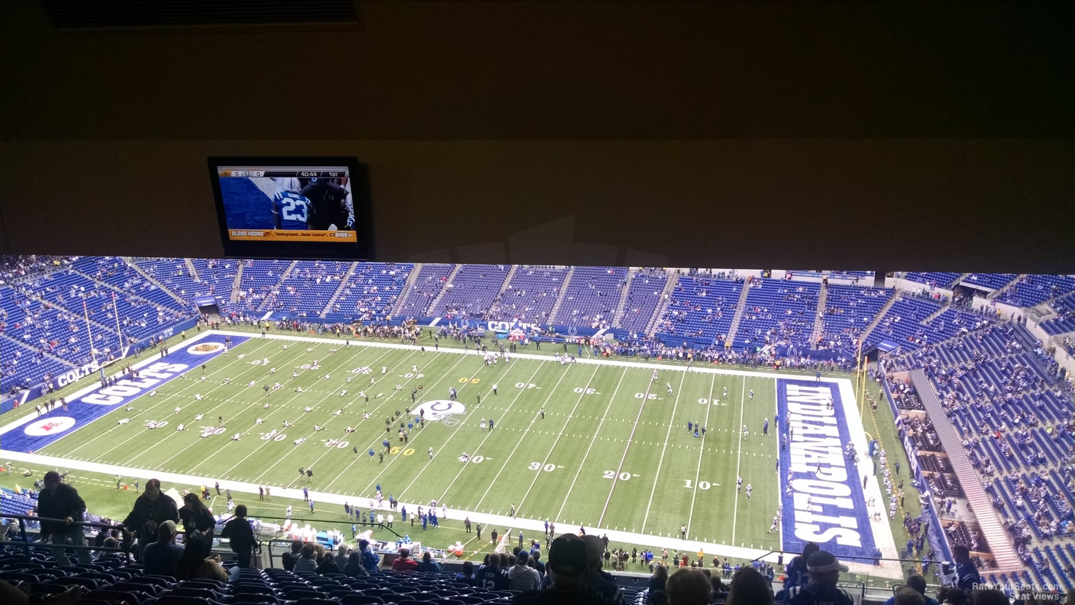 Lucas oil stadium section 637 indianapolis colts for Terrace end zone lucas oil stadium