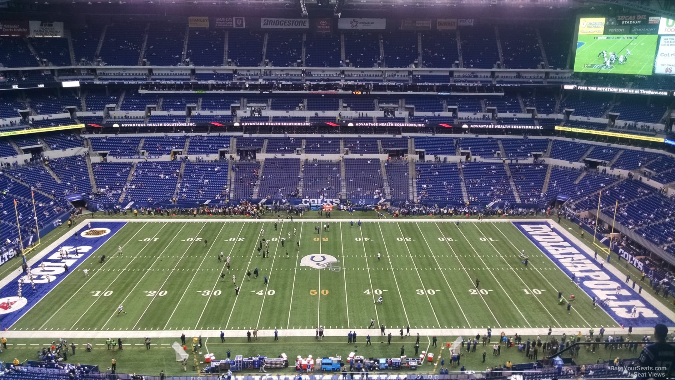 Lucas Oil Stadium Section 640 Indianapolis Colts