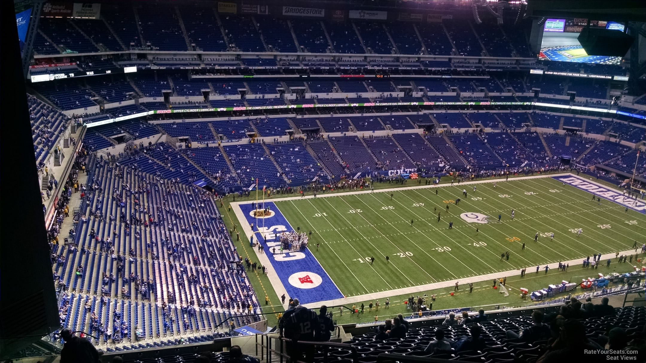 Lucas Oil Stadium Section 646 Indianapolis Colts