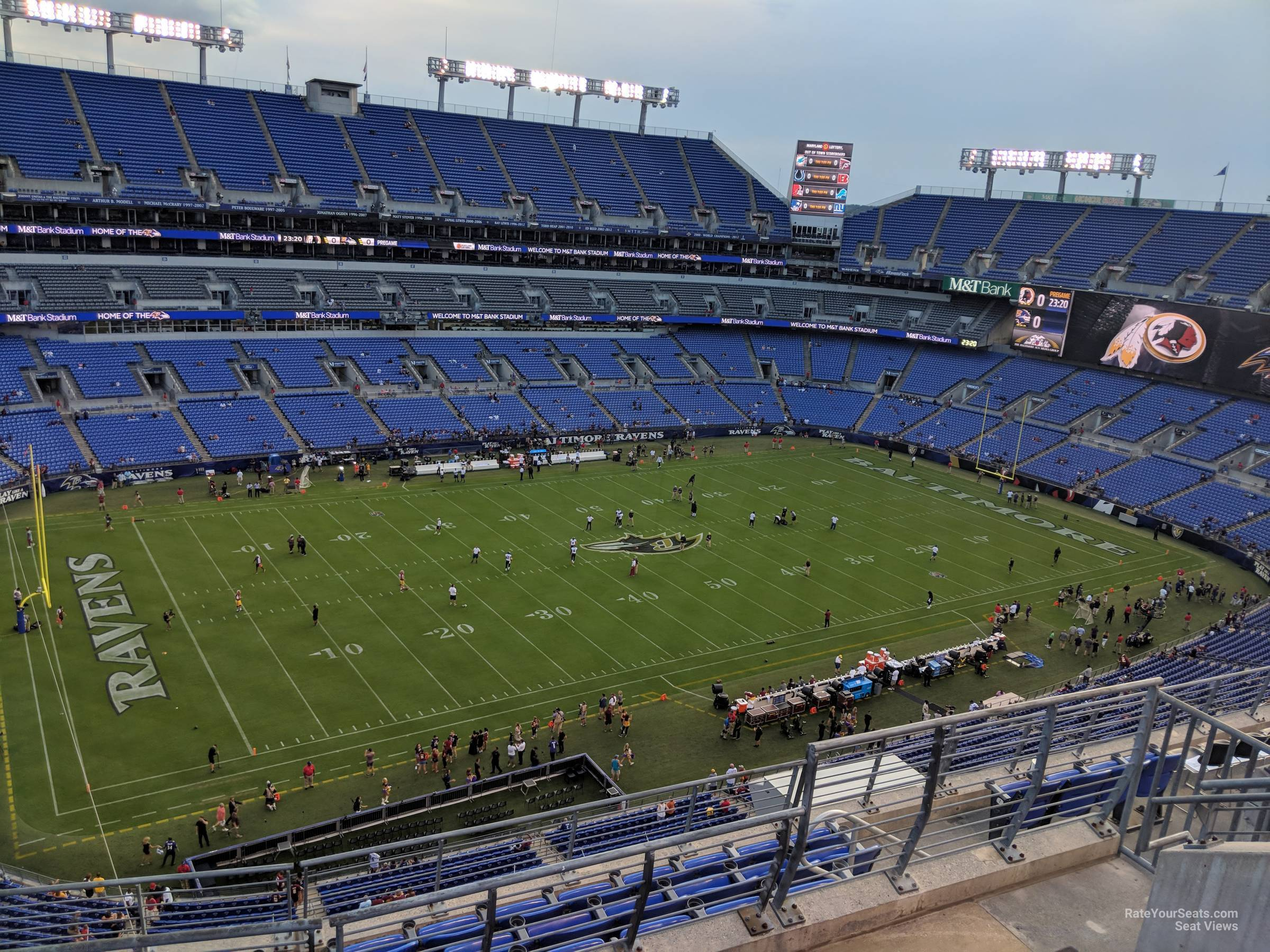 Mt Bank Stadium Section 504 Baltimore Ravens