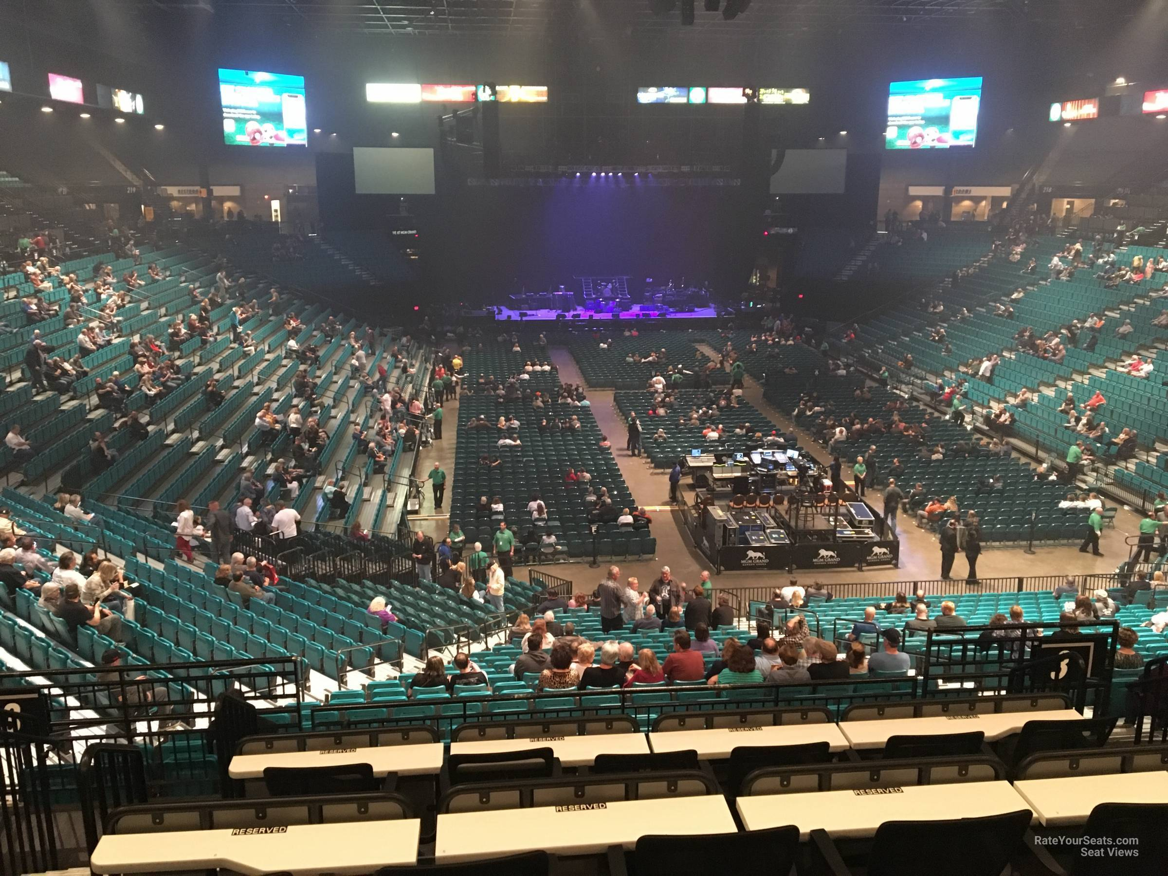 MGM Grand Garden Arena Section 103 - RateYourSeats.com