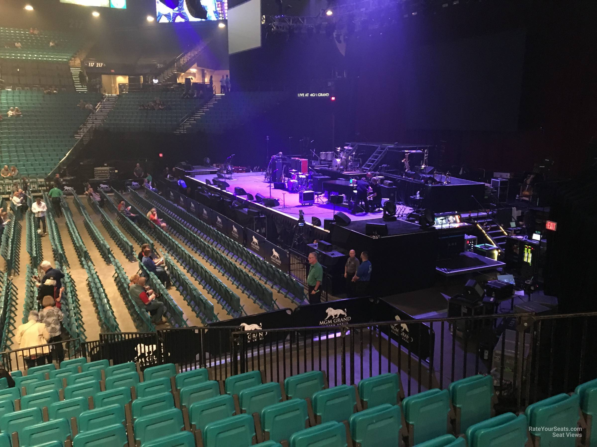 Mgm Grand Garden Arena Section 16 Rateyourseats Com