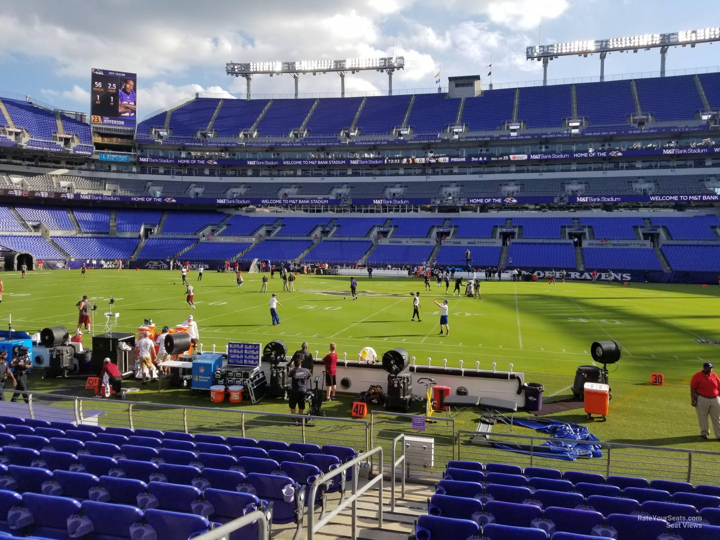 M&T Bank Stadium Section 152 Baltimore Ravens