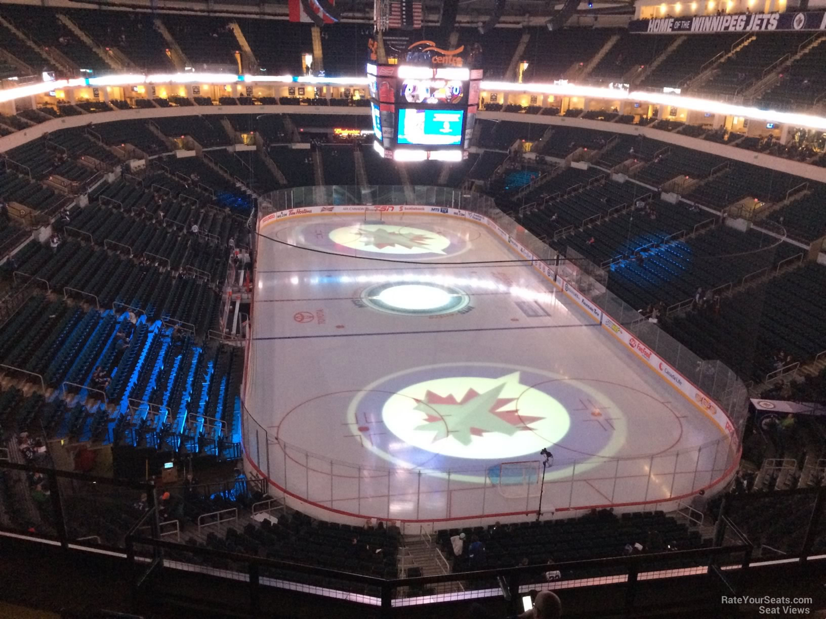 Bell Mts Place Section 314 Winnipeg Jets Rateyourseats Com