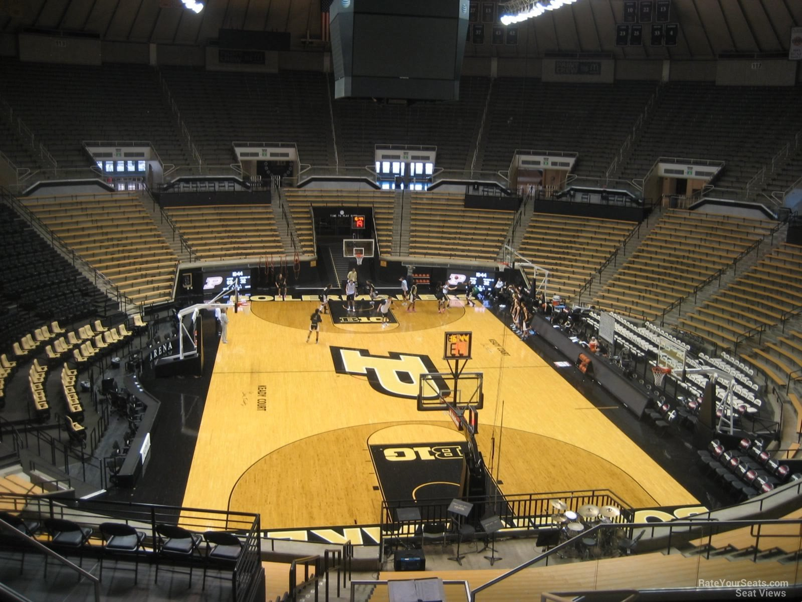 Seat View for Mackey Arena Section 107, Row 10