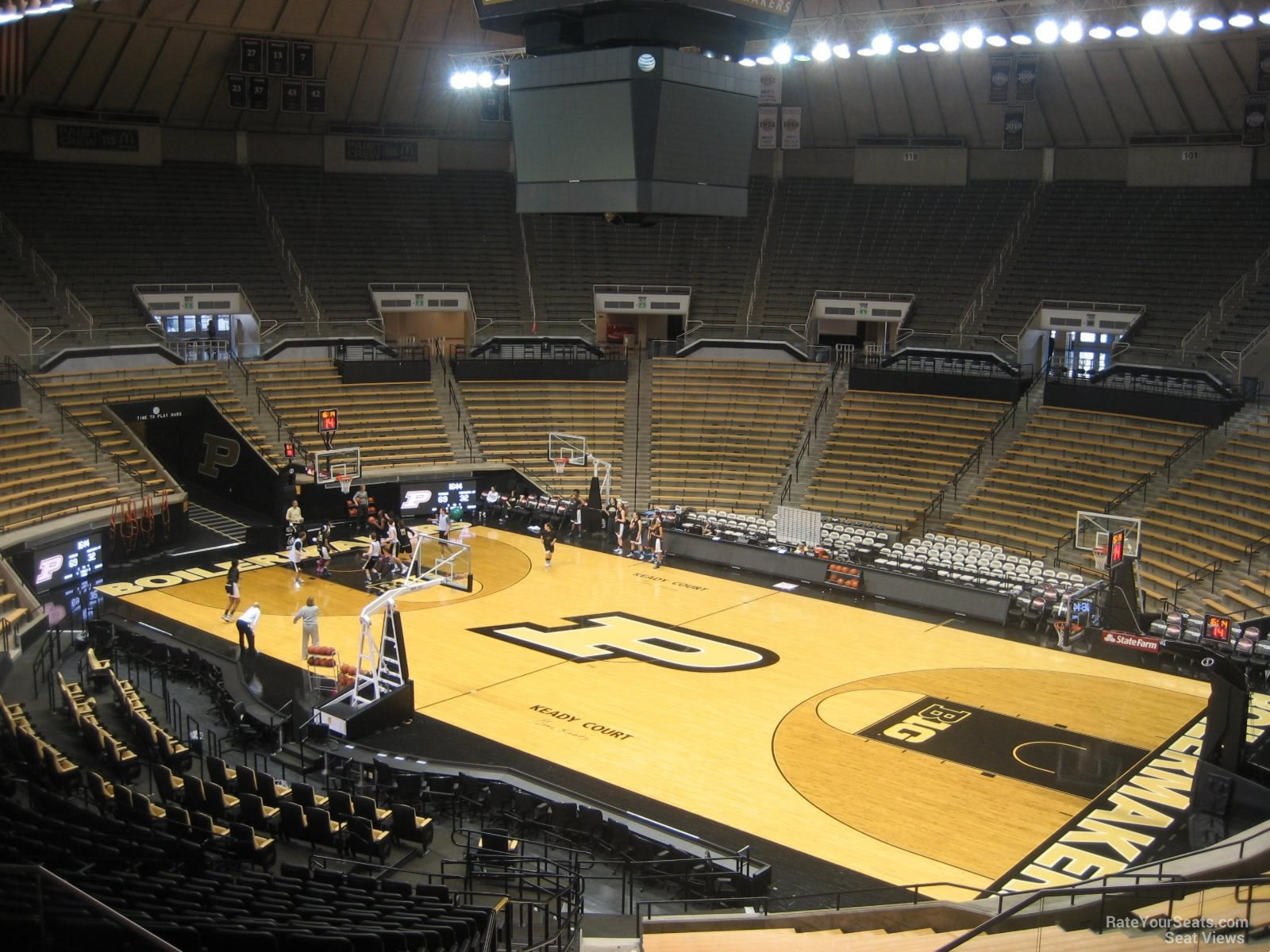 Seat View for Mackey Arena Section 109, Row 10