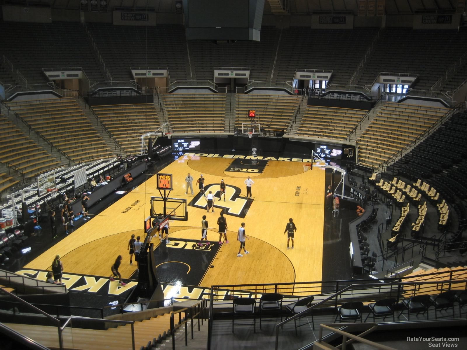 Seat View for Mackey Arena Section 115, Row 10