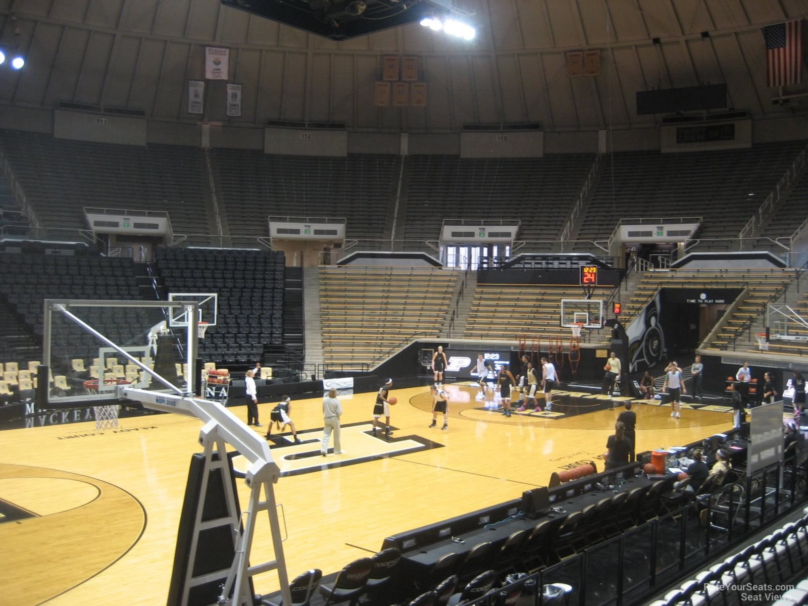 Seat View for Mackey Arena Section 3, Row 10