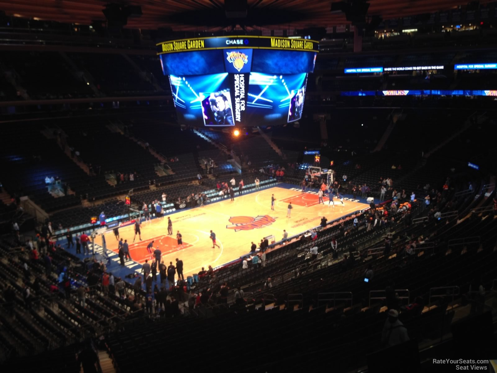 Madison Square Garden Section 208 New York Knicks