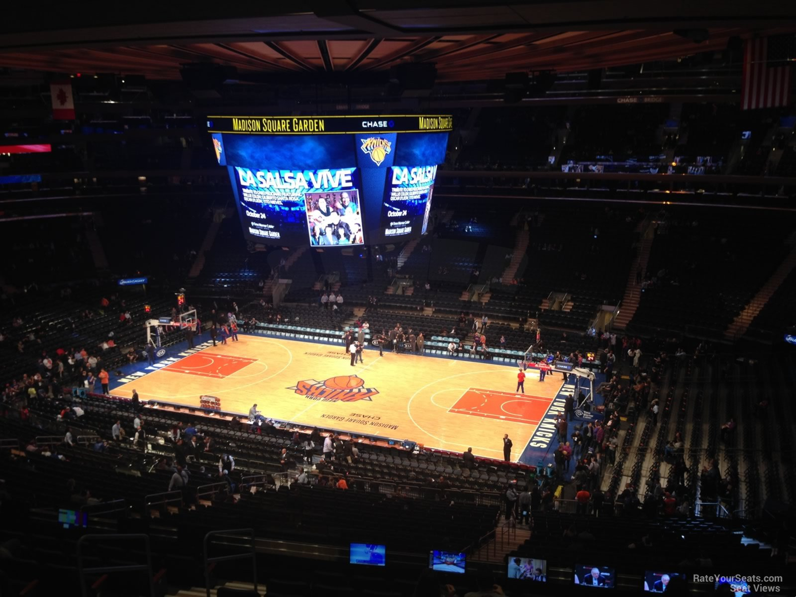 Madison square garden section 213 new york knicks Madison square garden basketball