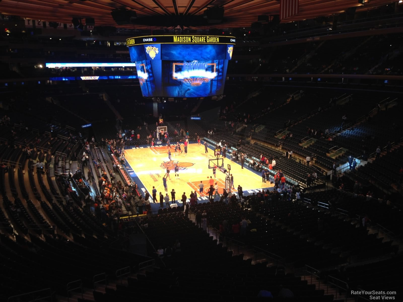 How Many Seats Are In Madison Square Garden Extreme Home Makeover Talk Of New York T O N Y