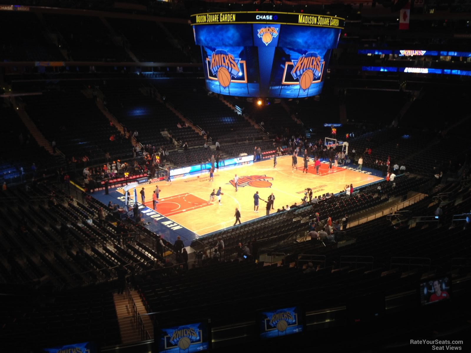 Madison Square Garden Section 221 New York Knicks