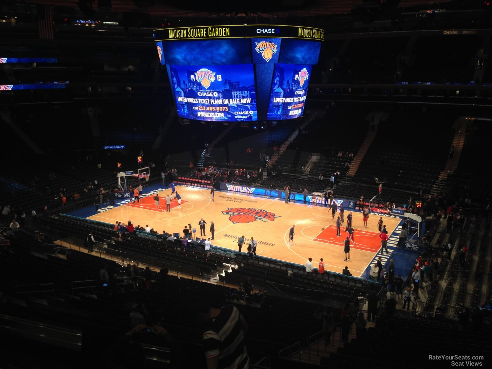 Madison Square Garden Section 226 New York Knicks