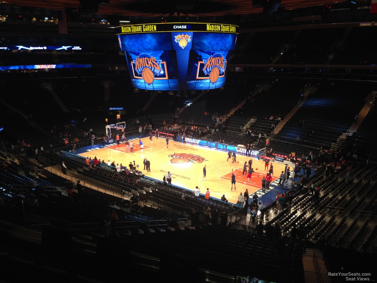 Madison Square Garden Section 227 Row 17 Best Image Of Garden Woodimages Co