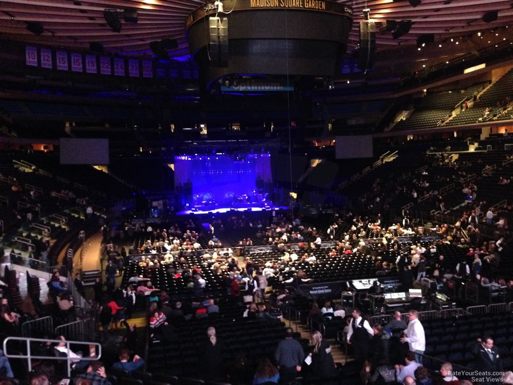 Madison Square Garden Section 101 Concert Seating RateYourSeatscom