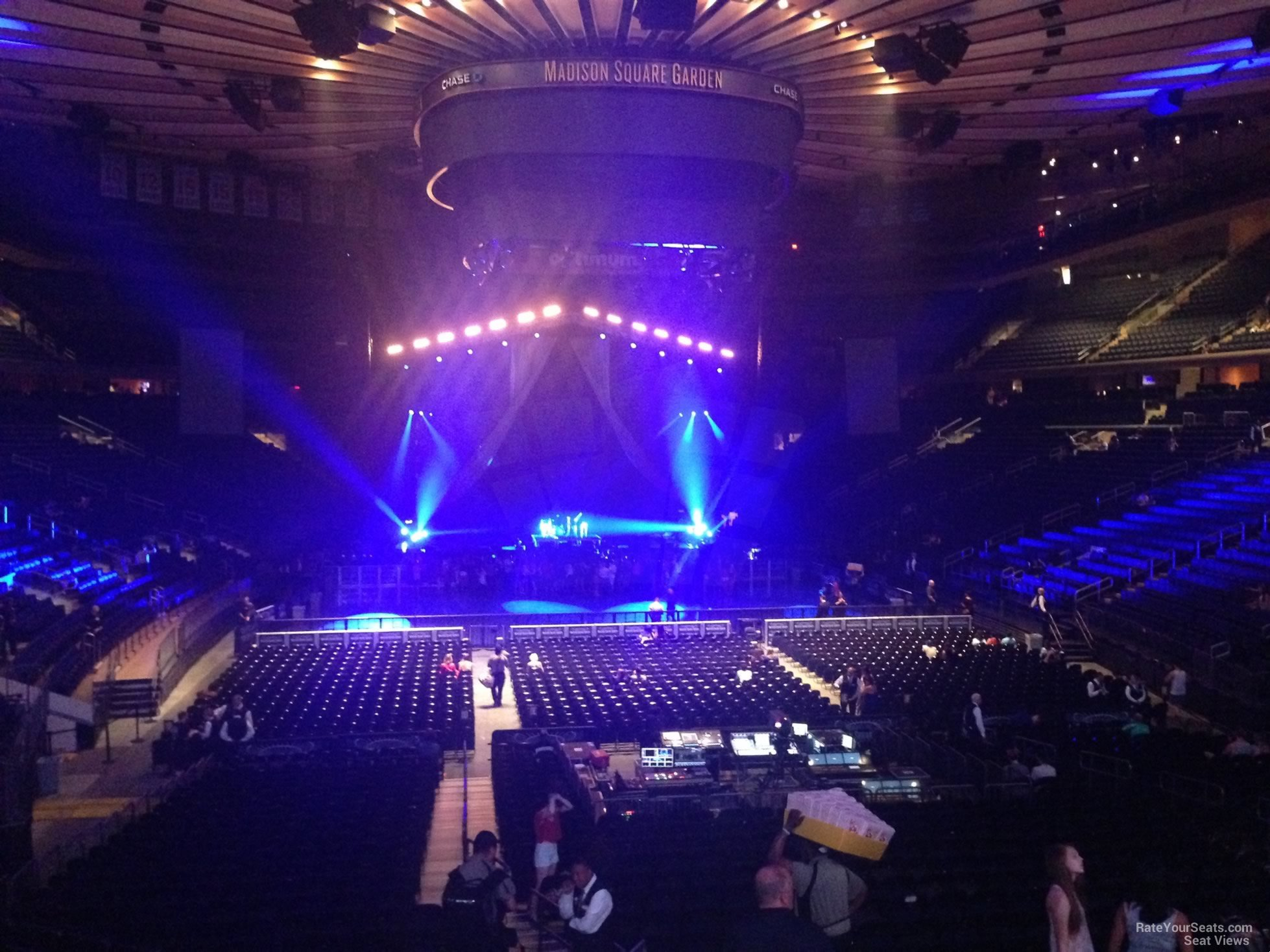 Madison Square Garden Section 101 Concert Seating