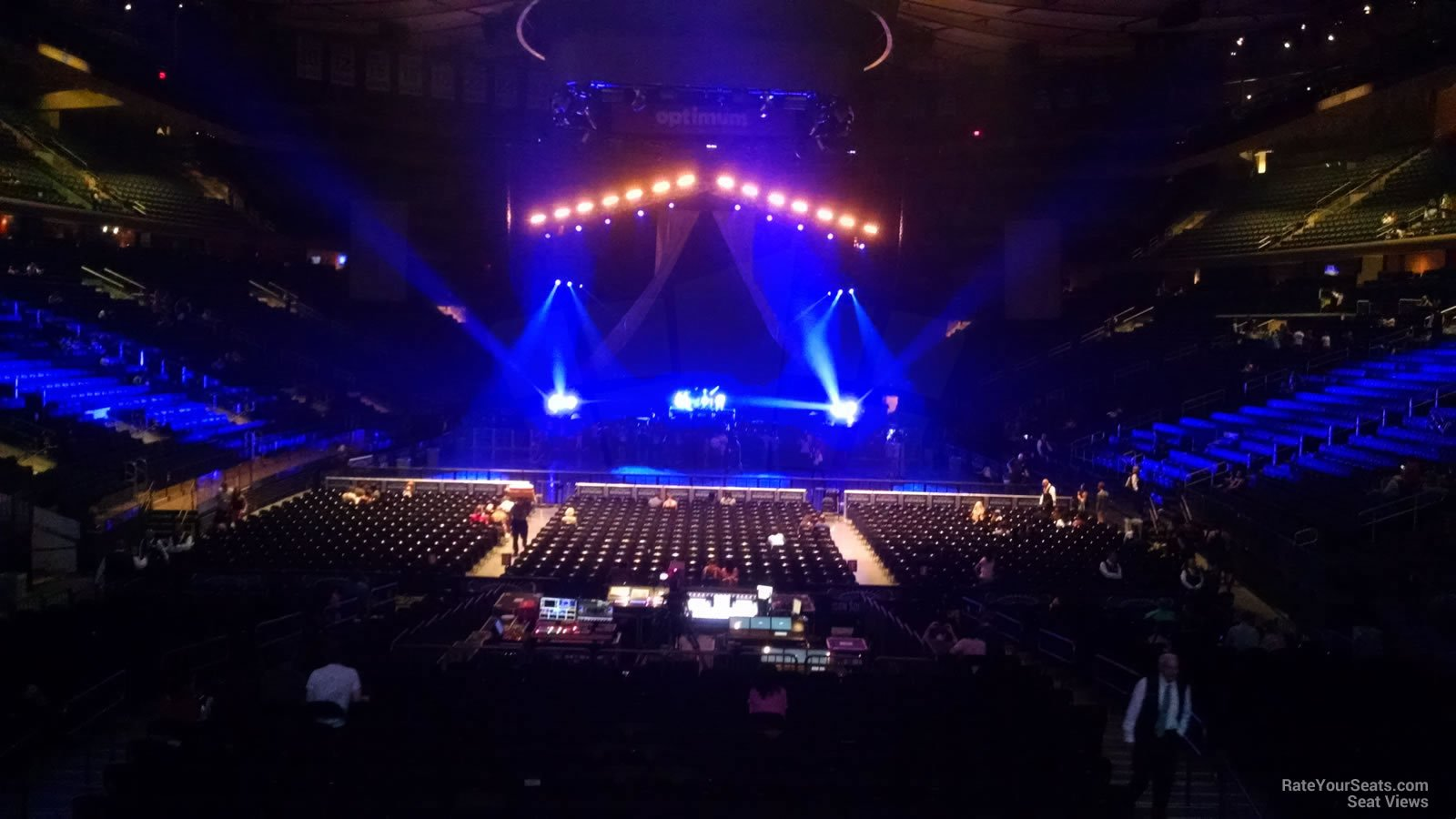 Madison Square Garden Section 102 Concert Seating