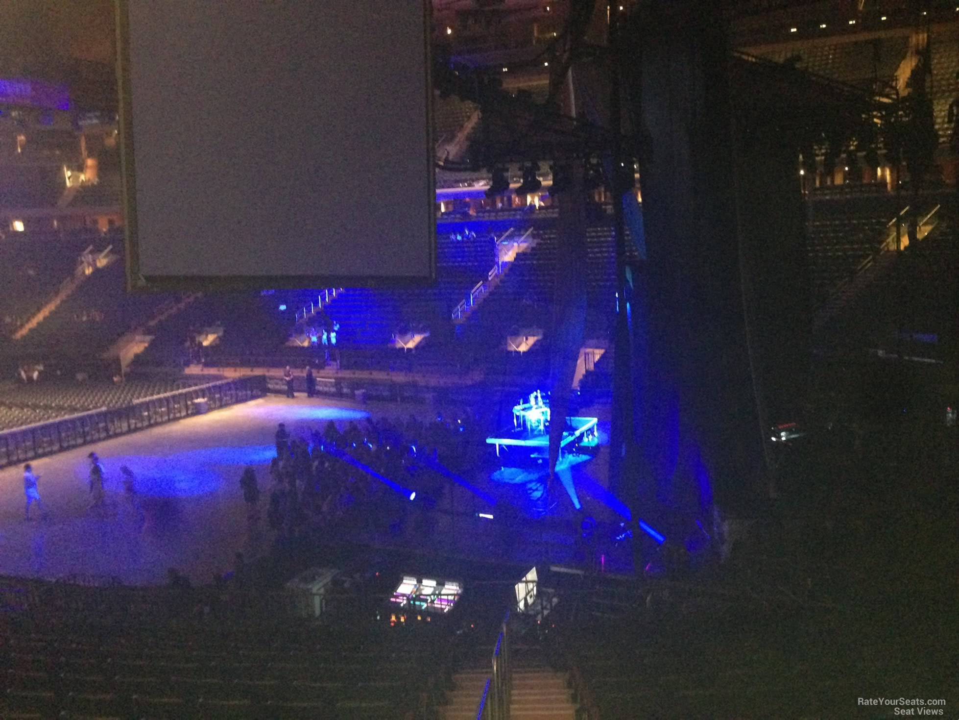 Madison Square Garden Section 110 Concert Seating