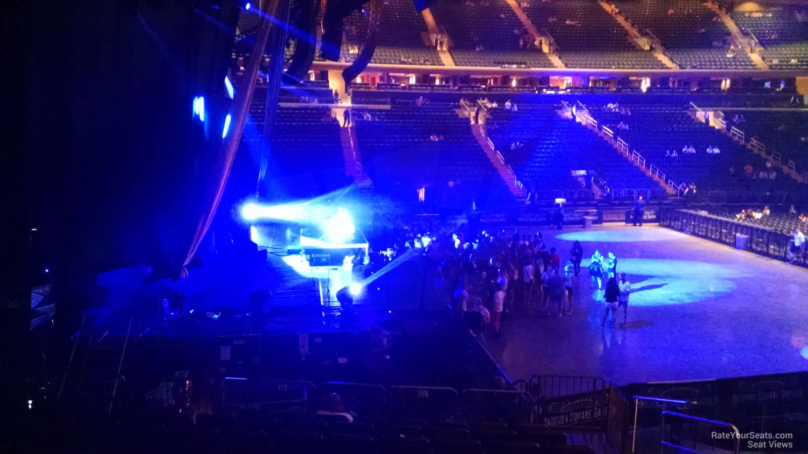 Madison Square Garden Section 115 Concert Seating