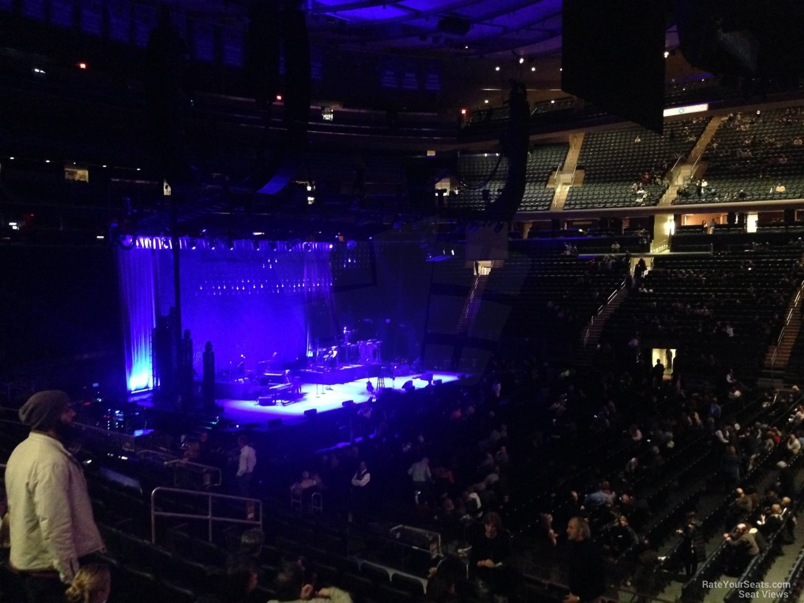 Madison Square Garden Section 117 Concert Seating