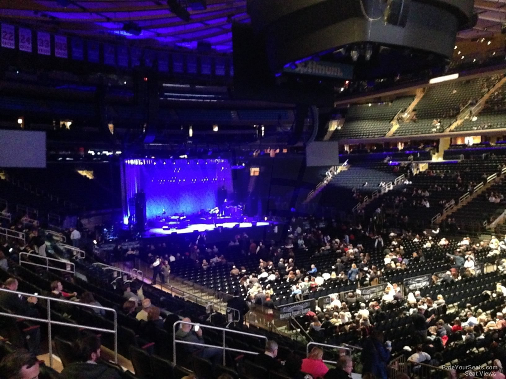 Madison Square Garden Section 119 Concert Seating RateYourSeatscom