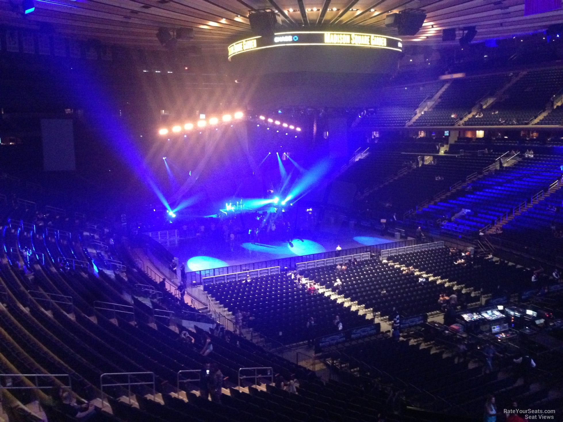 Madison Square Garden Section 201 Concert Seating