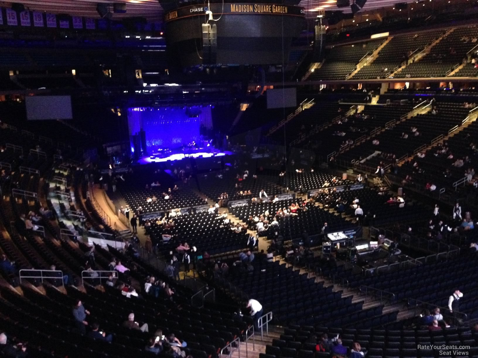 Madison Square Garden Section 202 Concert Seating RateYourSeatscom