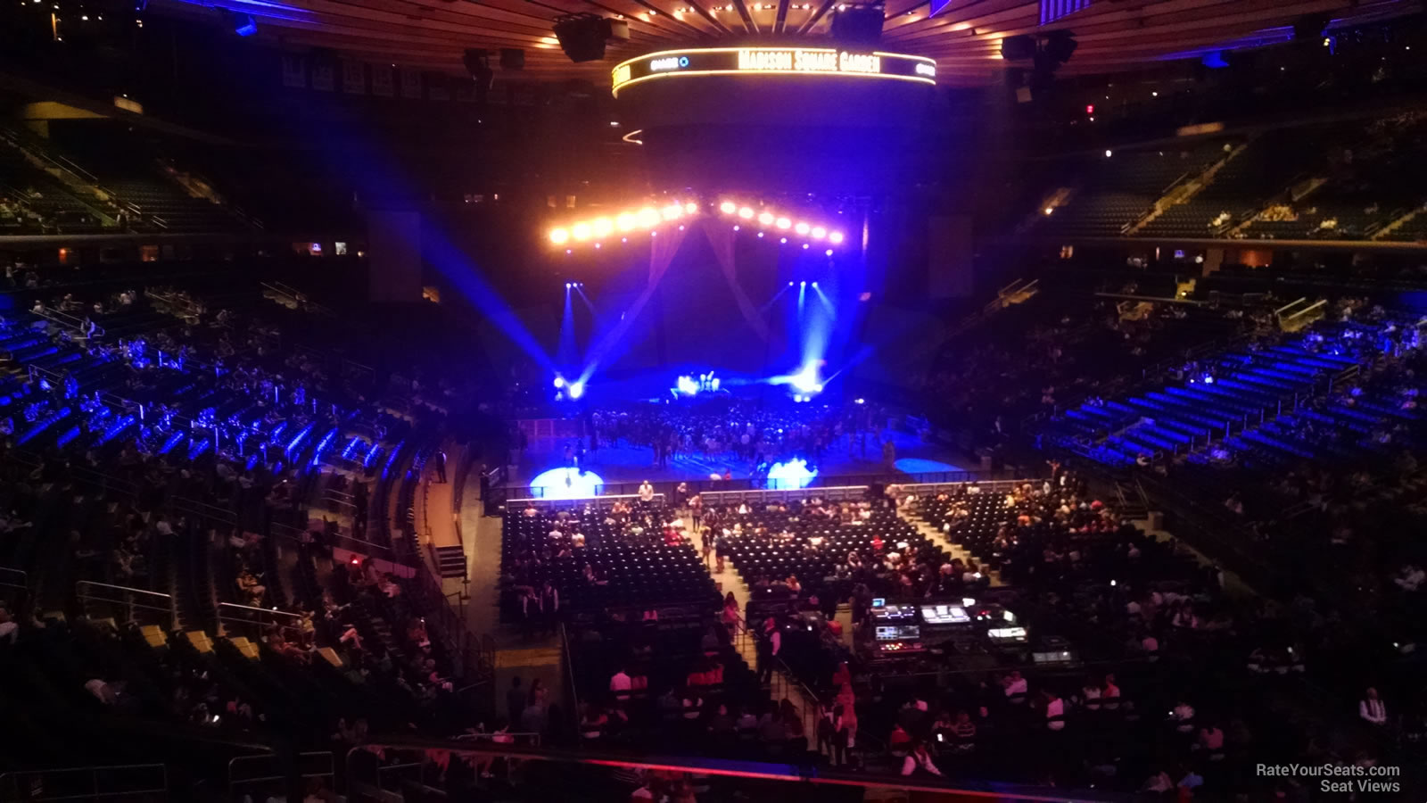 Madison Square Garden Section 203 Concert Seating