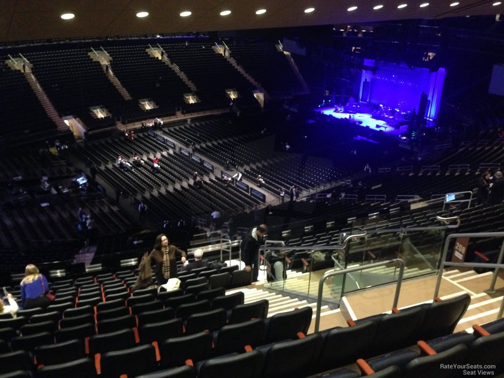 Madison Square Garden Section 208 Concert Seating