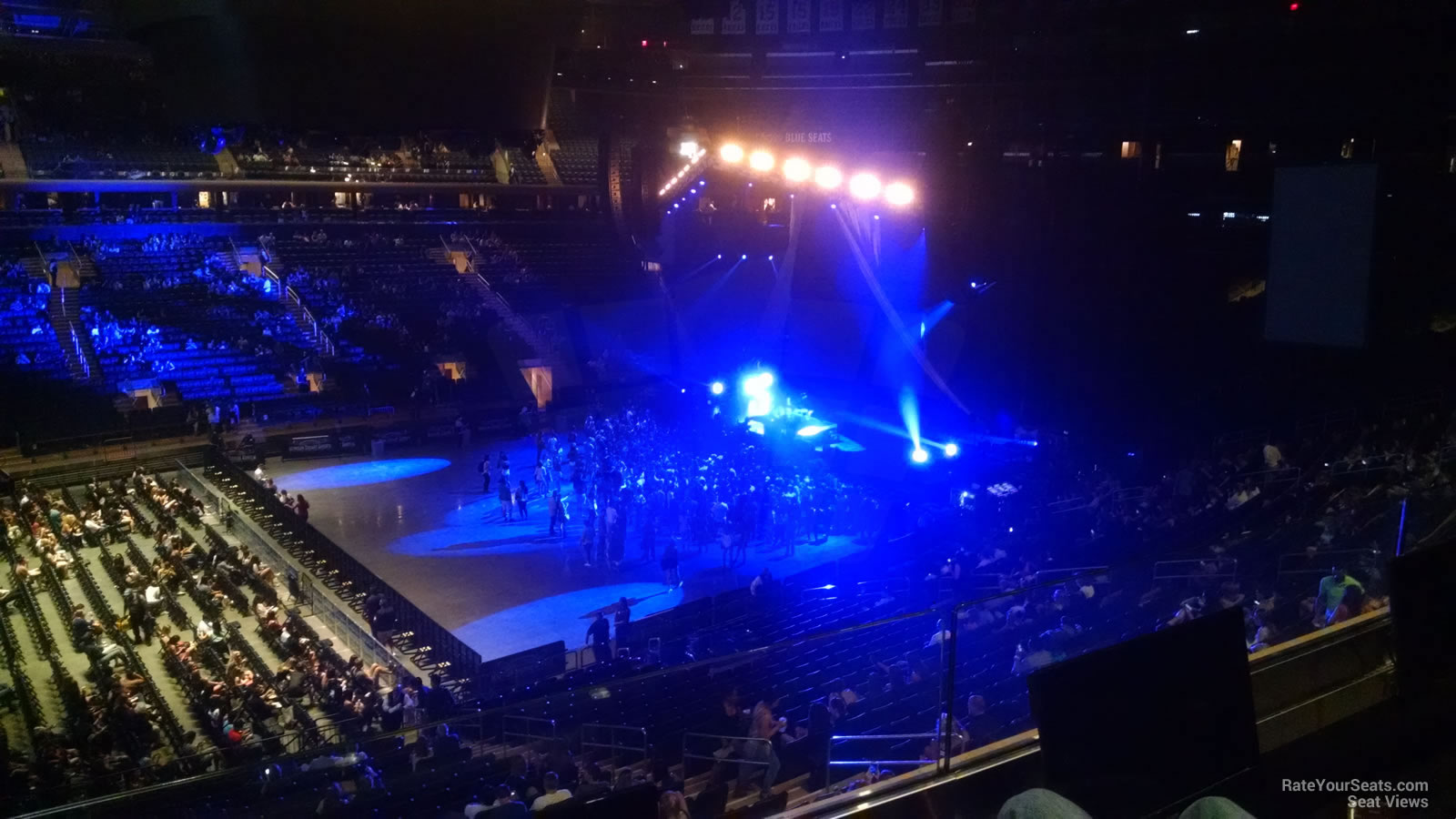 Madison Square Garden Seating View Section 210
