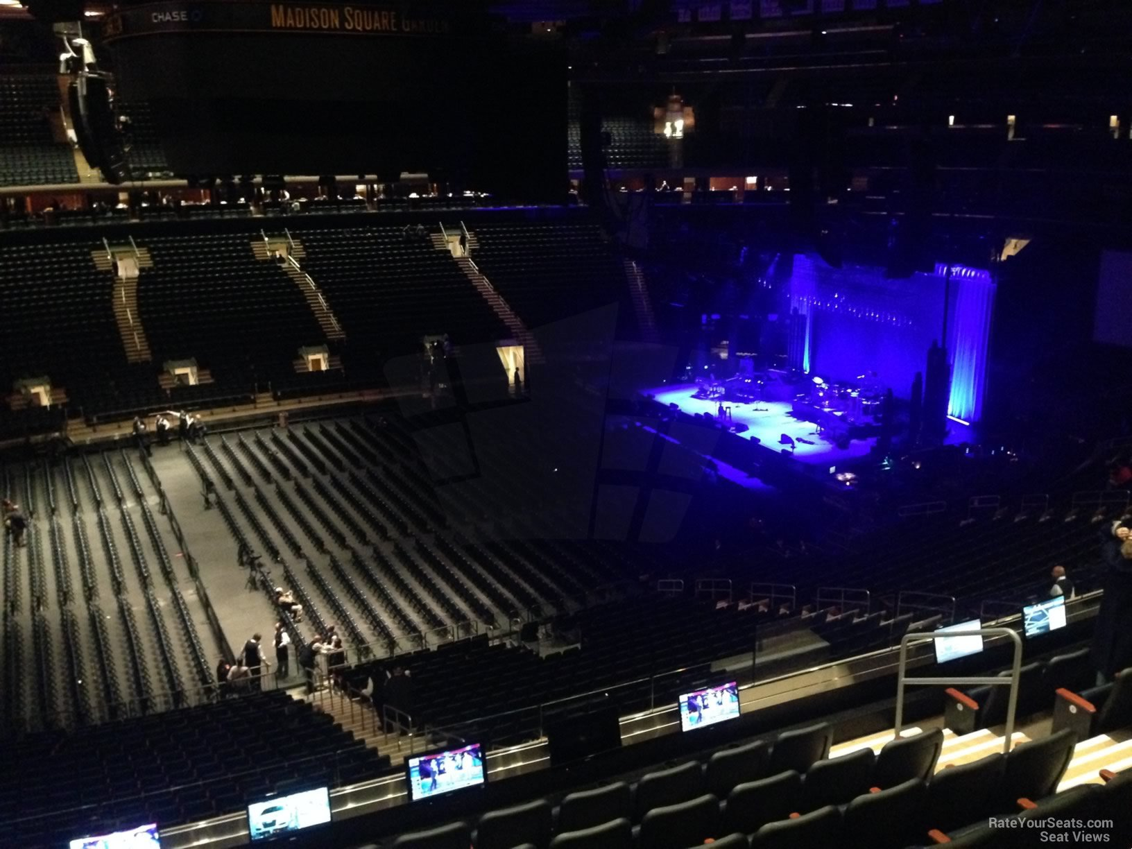 Madison Square Garden Section 210 Concert Seating RateYourSeatscom