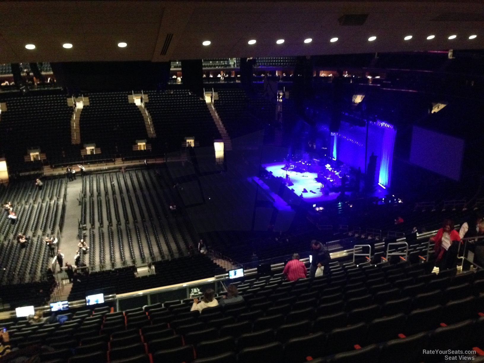 Concert Seat View For Madison Square Garden Section 211