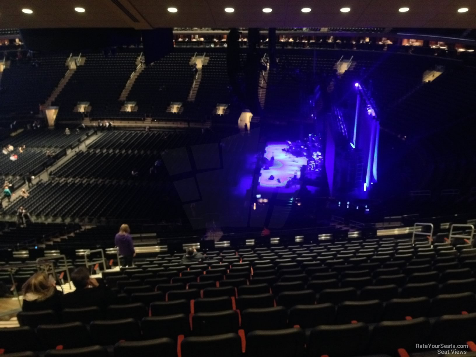 Concert Seat View For Madison Square Garden Section 209