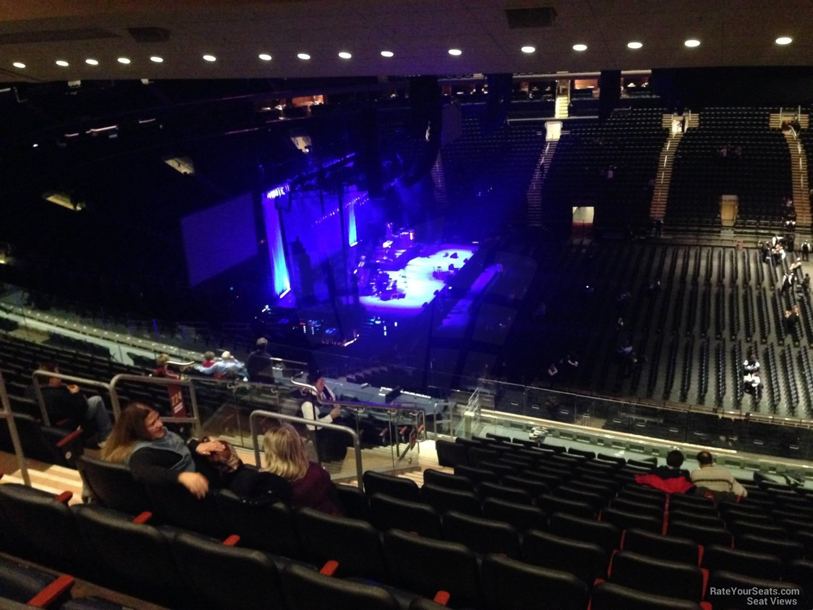 Concert Seat View For Madison Square Garden Section 224