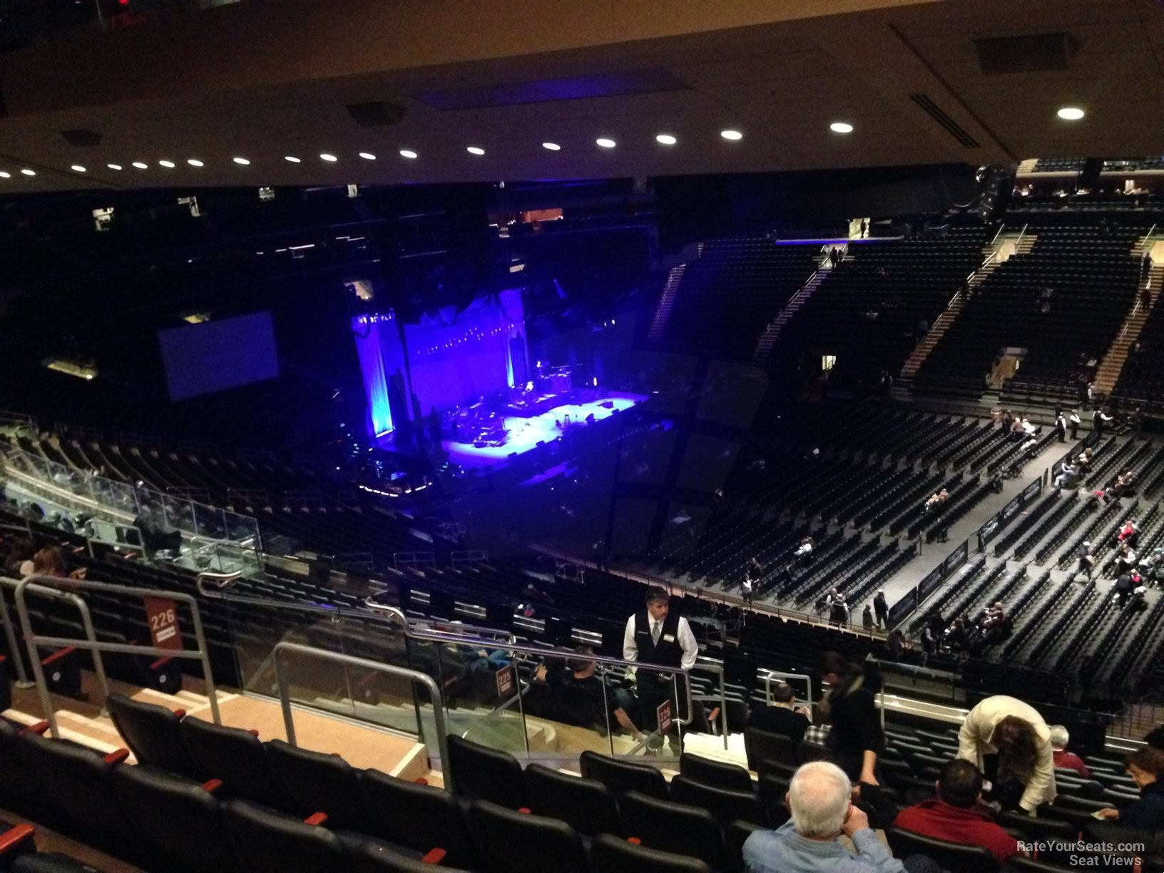 Madison Square Garden Section 225 Concert Seating RateYourSeatscom