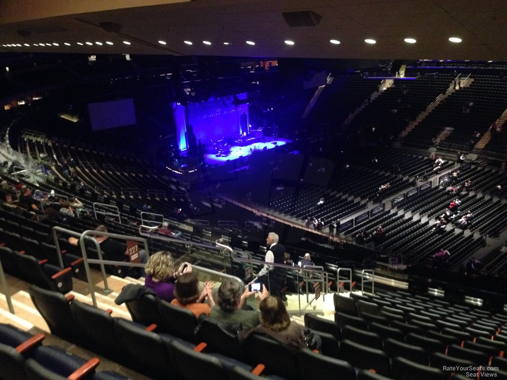 Madison Square Garden Section 226 Concert Seating RateYourSeatscom