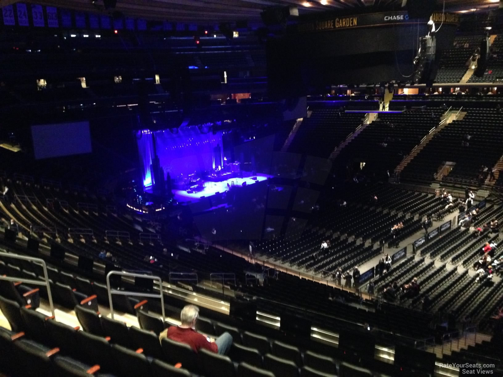 Madison Square Garden Section 226 Concert Seating ...